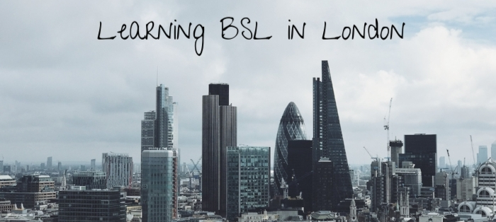 learning bsl in london