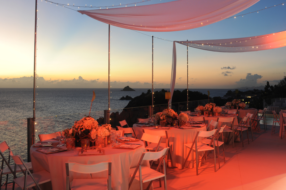 Party Reception Private Villa St Barths
