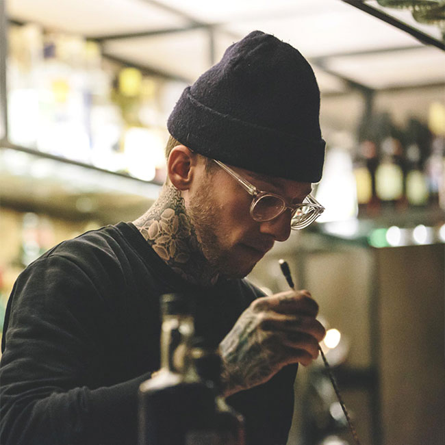 Robin Goodfellow | Bartender & Partner at Bar Raval
