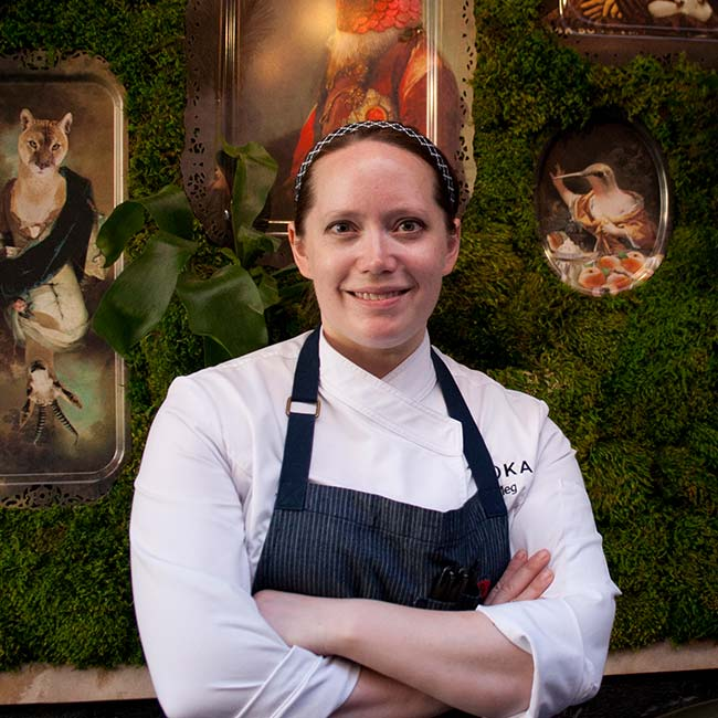 Meg Galus | Executive Chef at Boka and Somerset