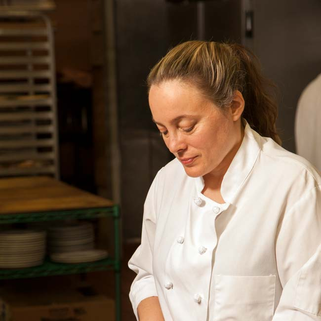 Sarah Stegner | Chef/Owner at Prairie Grass Cafe