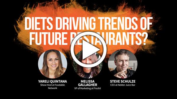 Diets Driving Trends of Future Restaurants?