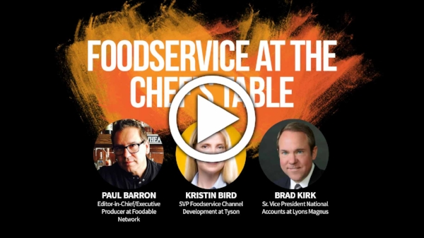 Foodservice at the Chef's Table