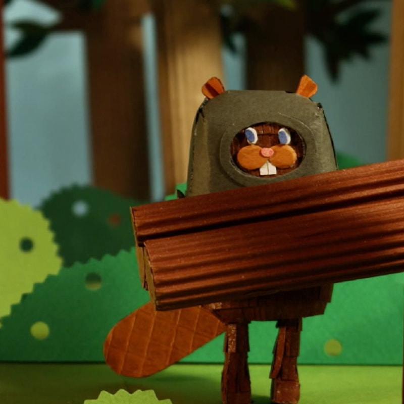 The Tearaway  - Paper Animation