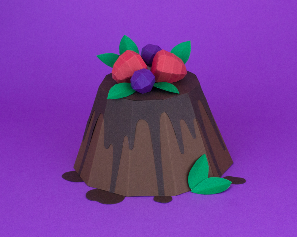 Eleanor Stewart_Paper Model_Chocolate-pudding.jpg