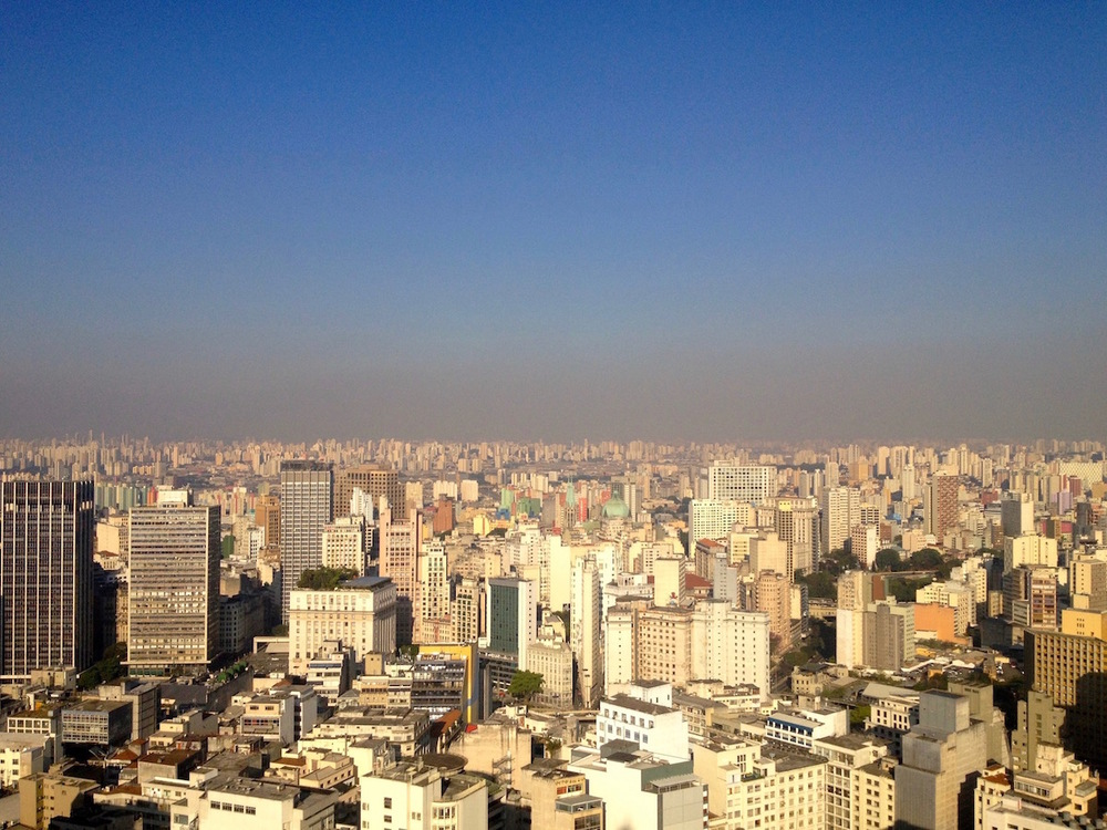 The mistakes of hyper-industrialisation. São   Paulo, Brazil.