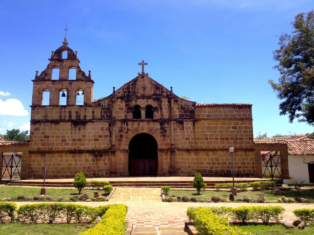 Barichara, a small colonial town in Colombia.Places of worship have been built on prime real estate for centuries, often featuring as the centrepiece of old town squares around which cities grow.