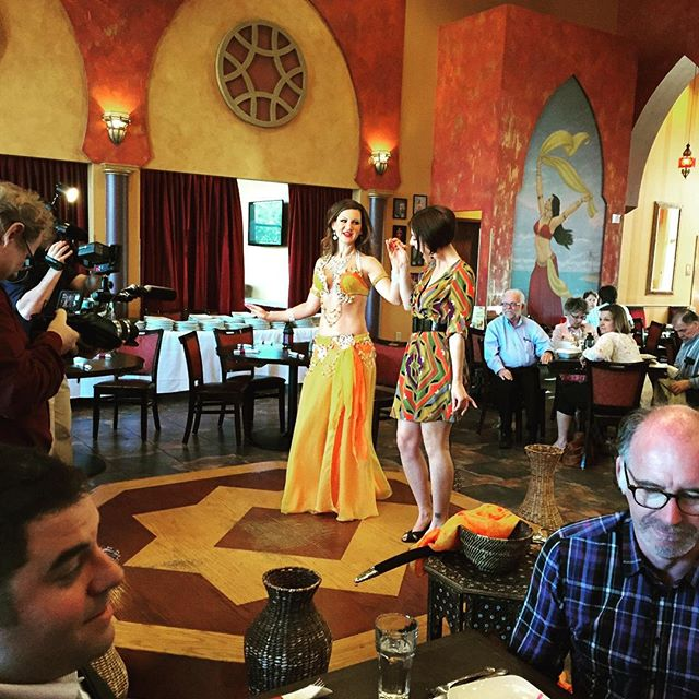 Got @jennifermergen out on the dance floor in this episode featuring Burnsville on @theminnesotatraveler. Check out The Mediterranean Cruise Cafe the next time your in the area!