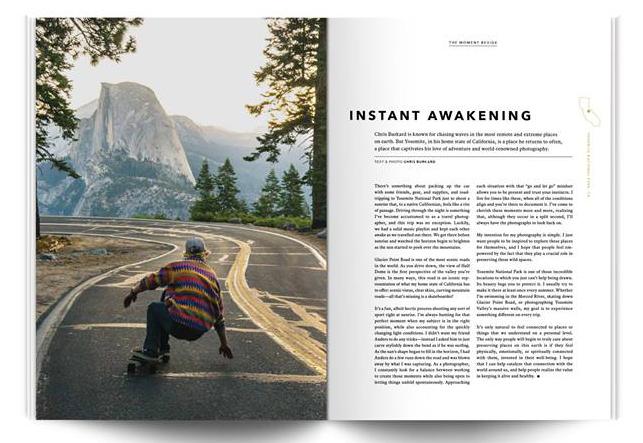 Beside: magazine consacré à la nouvelle génération d'amateurs de plein air en Amérique du Nord.