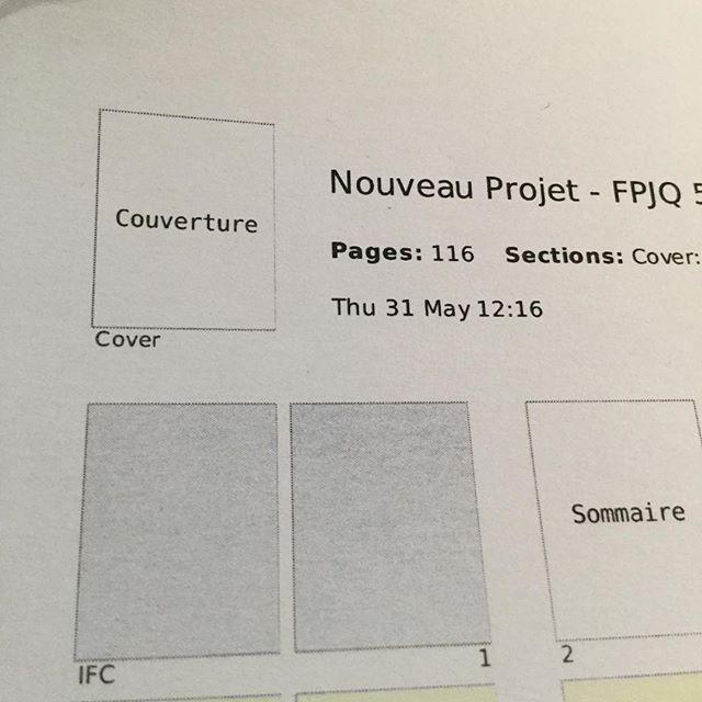 Scoop! Beau projet d'édition en cours, pour le compte de la Fédération professionnelle des journalistes du Québec.