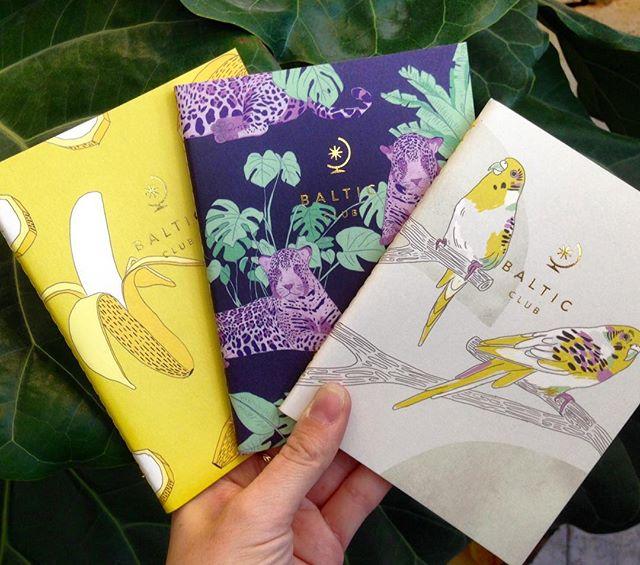 On a reçu des nouveaux et estivaux cahiers @thebalticclub !