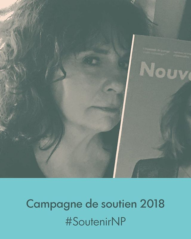Faites comme Christiane Charette et appuyez Nouveau Projet! C'est notre campagne de soutien annuelle, et on vous offre 15% de rabais sur tous nos abonnements. Lien dans la bio.#SupporterNP