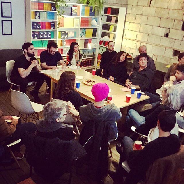 Rencontre Atelier 10 avec  nos abonnés, échanges sur le #patrimoine.