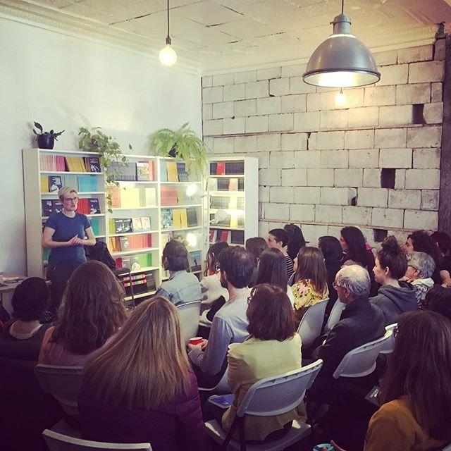 Salle comble pour notre rencontre avec Anne-Marie Olivier, gagnante du #livresgg 2018.