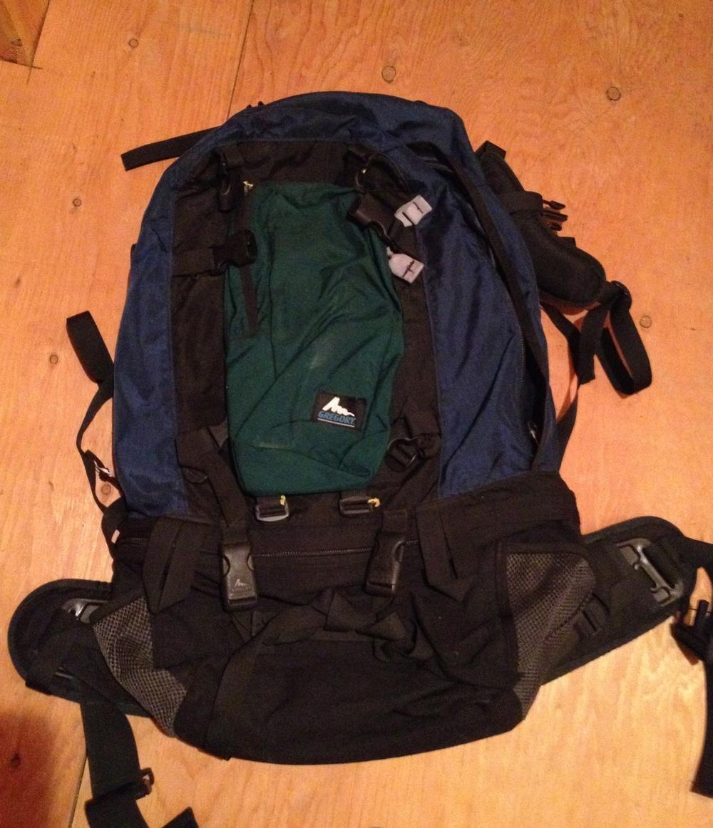 e4cf34e61061 Travel Backpacking Backpack- Fenix Toulouse Handball