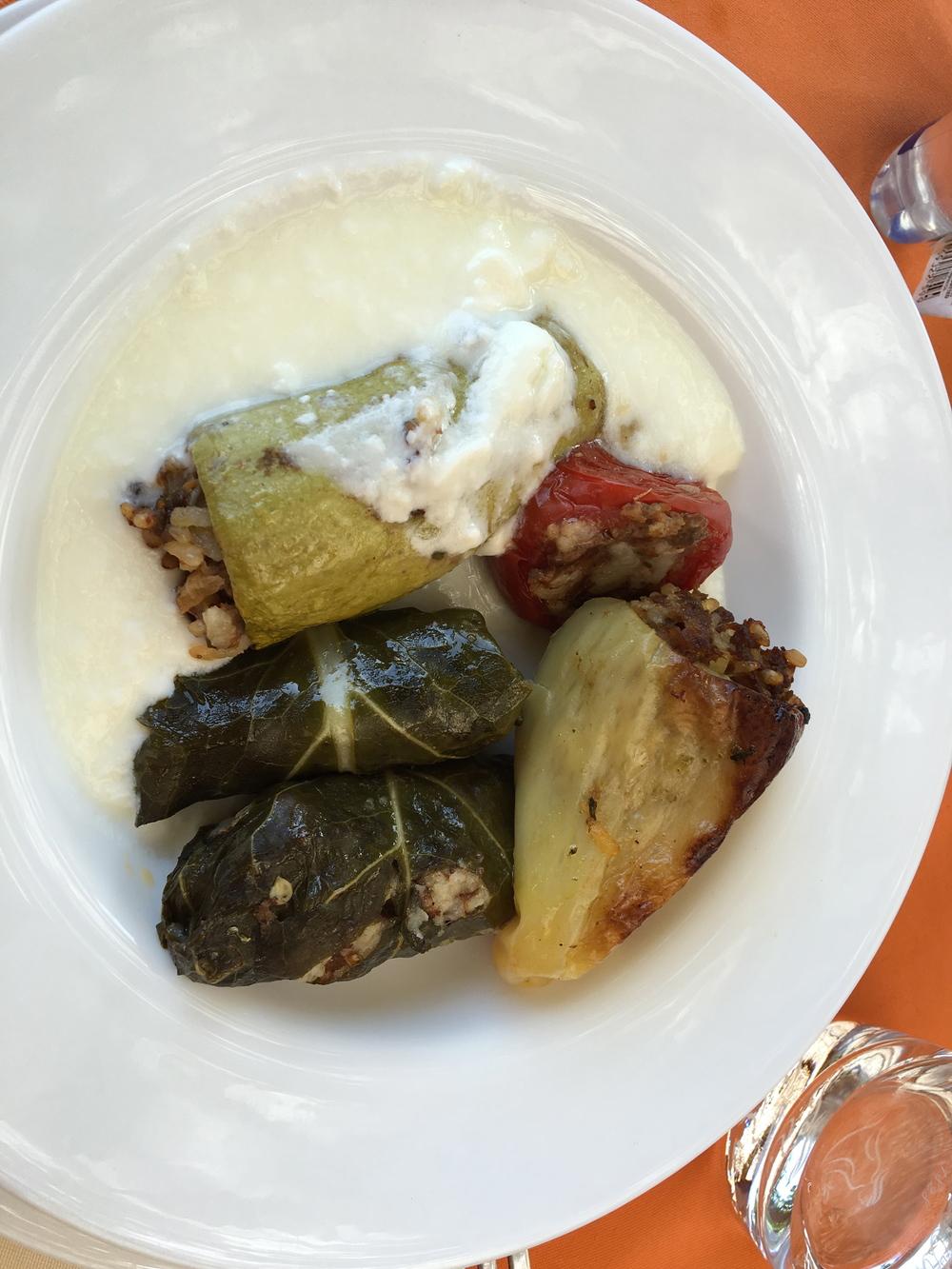 Bosnian specialties at Restoran Babilon
