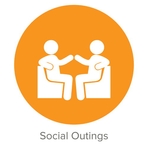 Social Outings We celebrate often, and together, with special team-buiding events, cultural activities and even volunteering!