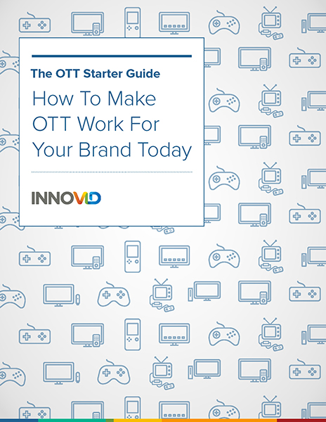 The OTT Starter Guide: How to Make OTT Work for Your Brand Today - If you're ready to drive immediate success with OTT audiences, then download this starter guide that walks you through the five key questions that every marketer should consider when activating any OTT effort — from inventory selection to creative design to targeting.
