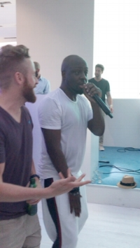 The incredible Wyclef Jean.