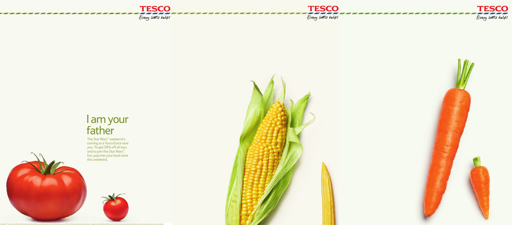 tesco    ©colin campbell