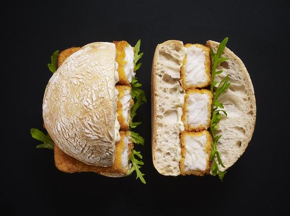 Fish Finger Sandwich    Stewart West    M&S