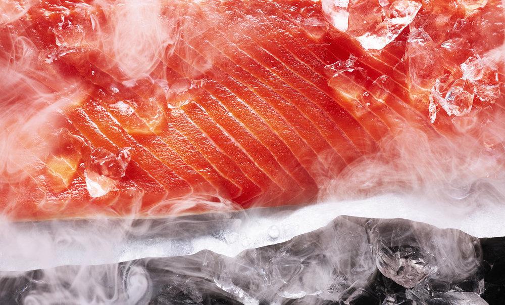 smoked salmon    ©kris kirkham    personal project