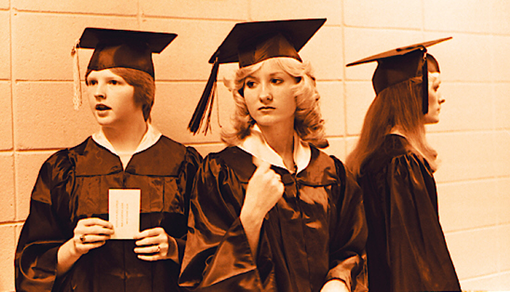 1977Graduation three girls.jpg