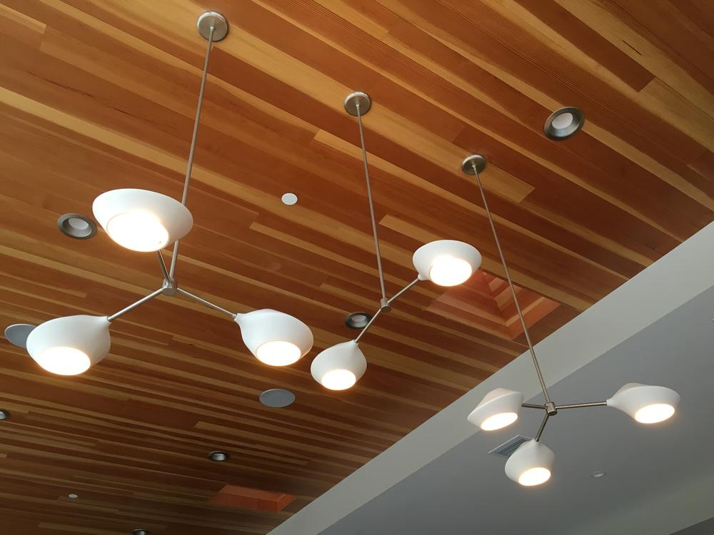Schmitt Design Orb Fixtures Trio Tandem Modern Ceramic