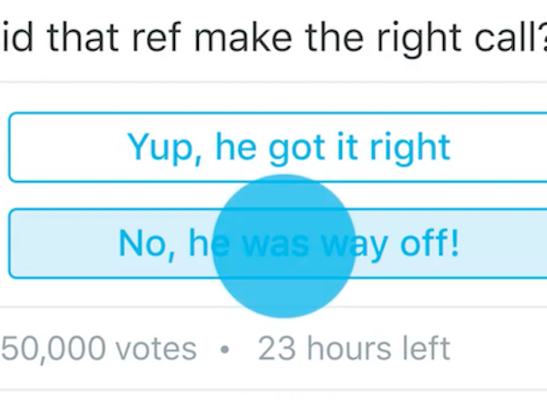Quick poll anyone? Let Twitter take a load off with their poll feature which is rolling out over the next few days. And it's not just going to be for brands either. It'll take a few days for it to hit everyone but you can read about it here.