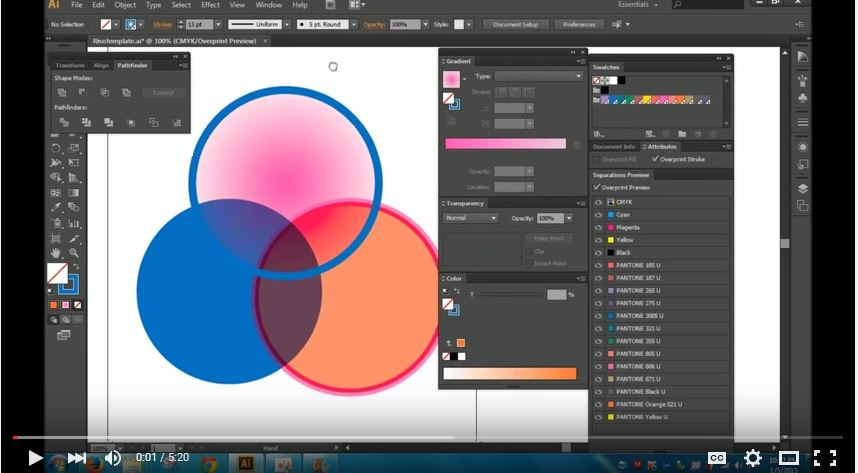 Step by step color separation