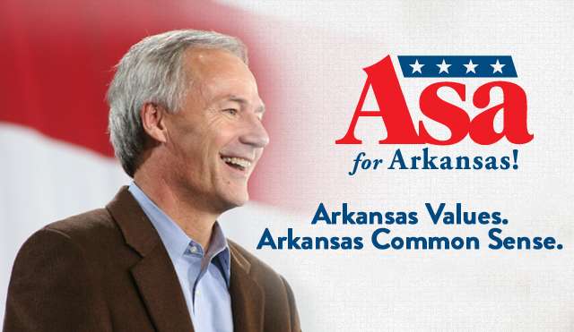 Asa Hutchinson - Governor of Arkansas (R)