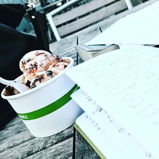 HALF OFF Homework Happy Hour starts today — swing in for a sweet study session Mon-Thur 3pm to 7pm and get half price on any order. FOR STUDENTS ONLY 📚😉 #indy #kids #college #students #icecream —— promo ends March 28th