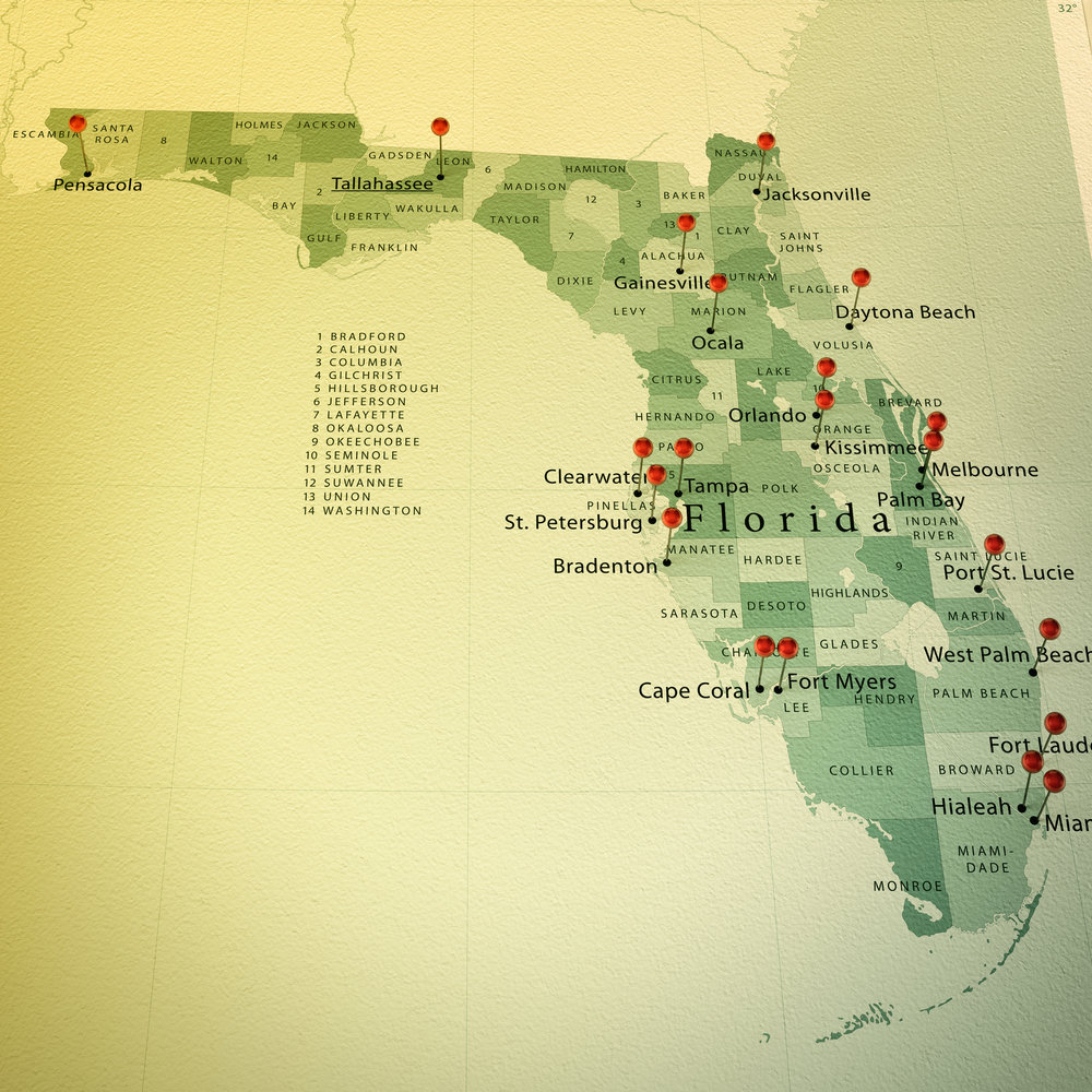 PHENIX works in over 20 Florida cities and all 50 states.