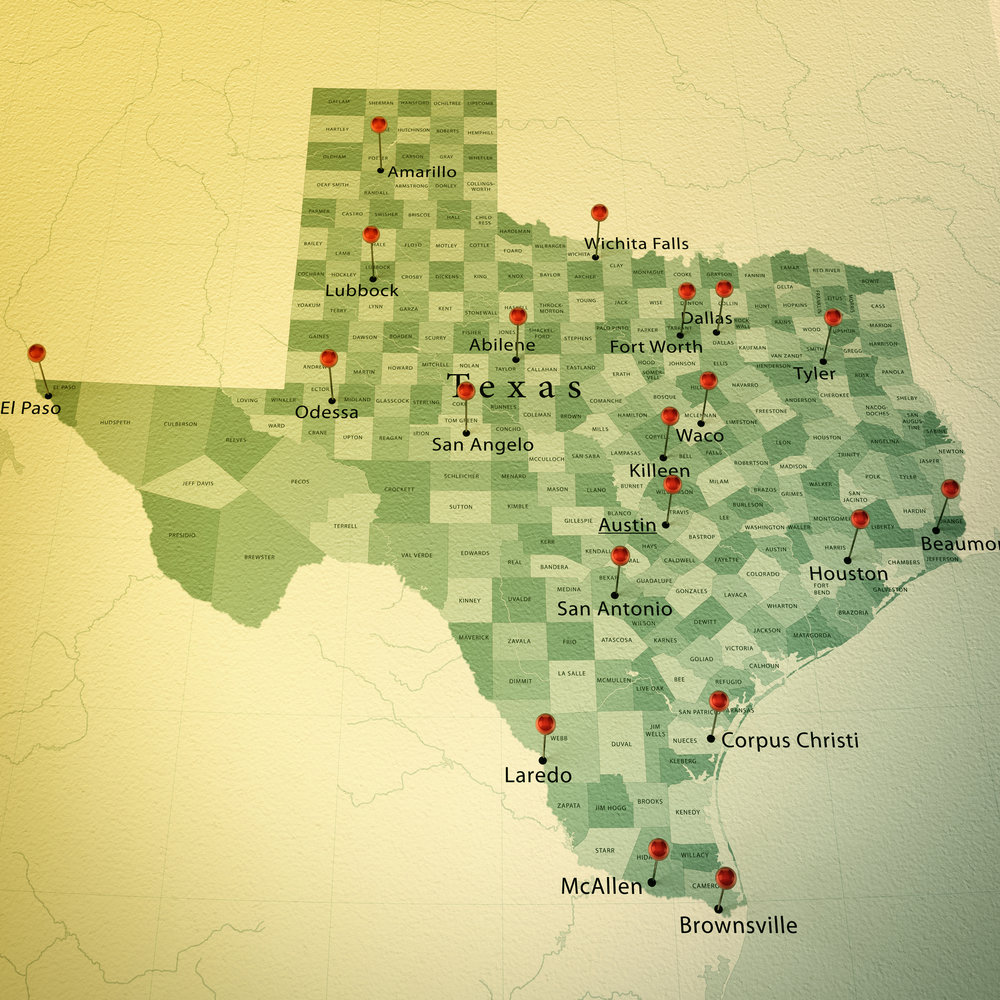 PHENIX works in over 20 cities in Texas and all 50 states.