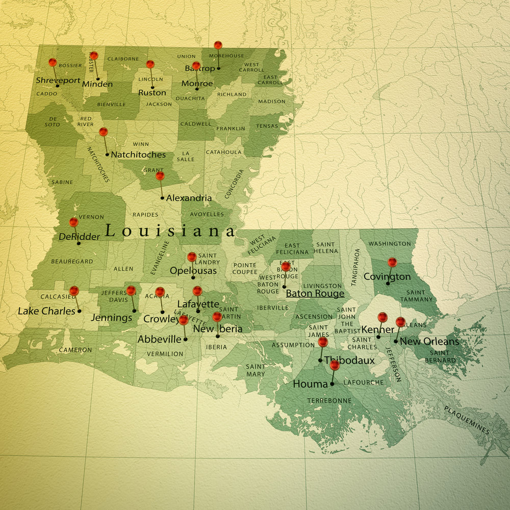 New Orleans, Asset Search