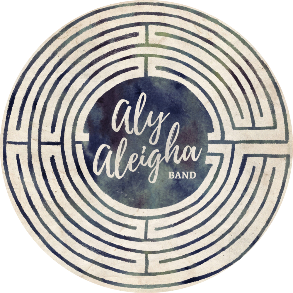 Downloadable Aly Aleigha Band Logo