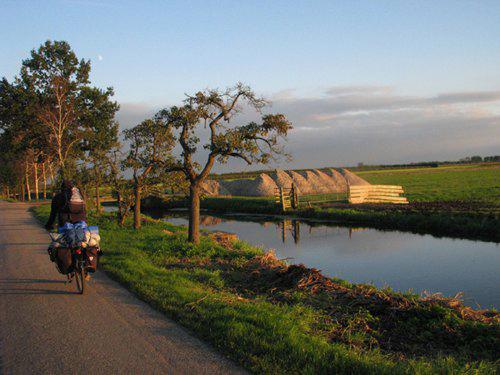 Nederländsk landsbygd.