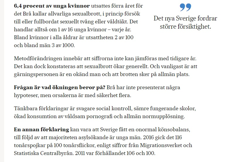 Fredrik Kärrholm: Vad vi bör berätta för våra döttrar \ SvD.