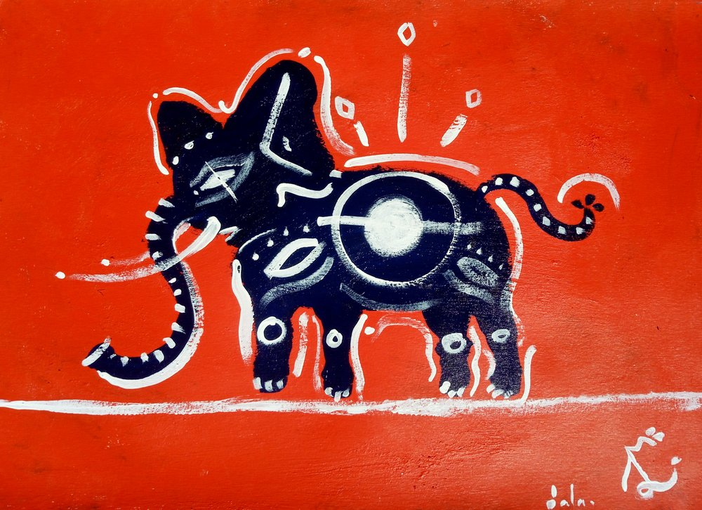 RÁNDOTTIR En elefant balanserade.jpg