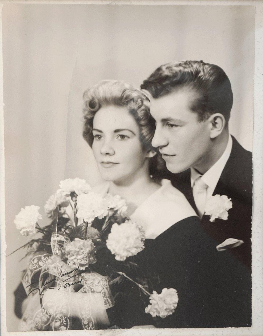 Bröllopsfotografiet.