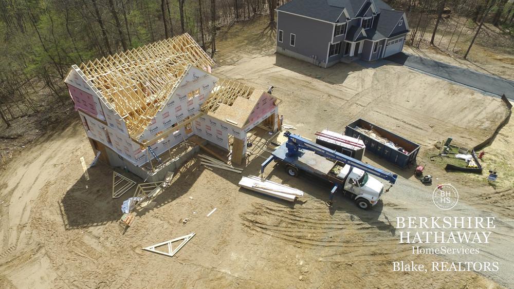 11 Burnham Hollow Aerial View Construction