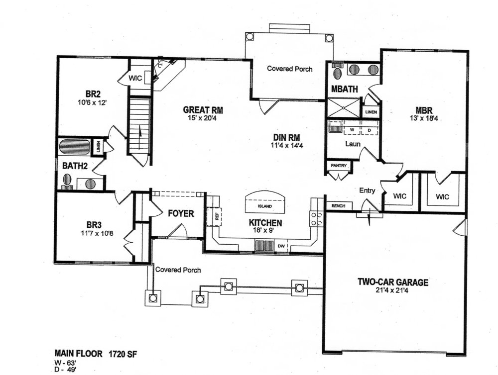 THE HARLOWE  floor plans