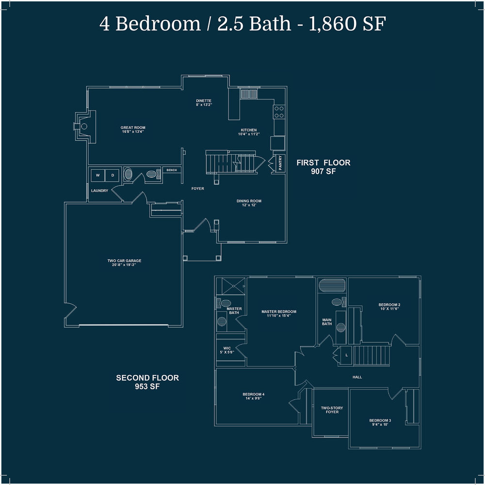 THE CAMPBELL  floor plans