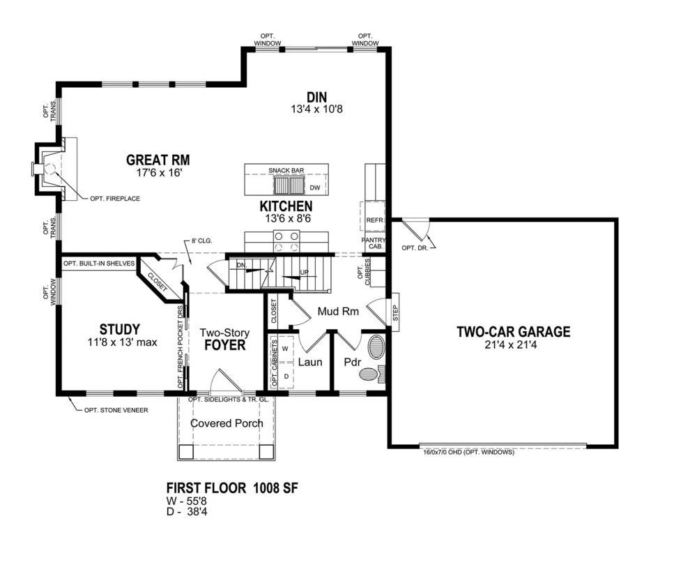 THE CARLISLE  floor plan