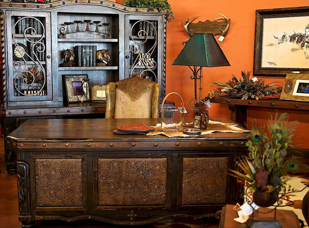Scott's Desk and Credenza.jpg