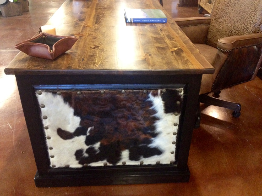 cowhide desk 2.JPG