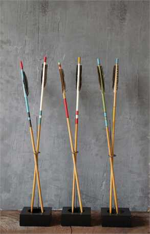 Wood Arrows w Metal Stand.jpg