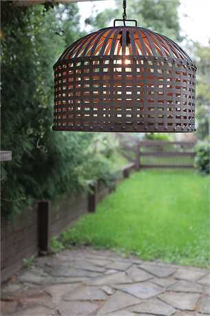 24'' D x 17'' H Metal Basket Weave Chandelier.jpg