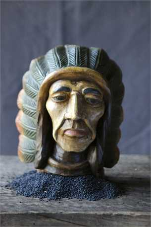 Hand Carved Mango Indian Head.jpg