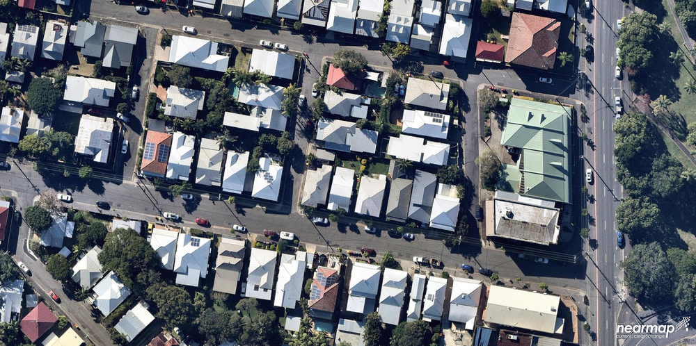 Figure            SEQ Figure \* ARABIC        2         - Typical House densities in 2018 in Brisbane